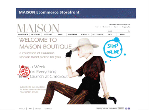 Maison Fashion Retail Ecommerce Store
